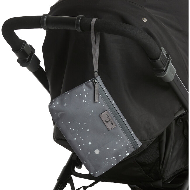On-The-Go Insulated Pouch, Grey Twinkle