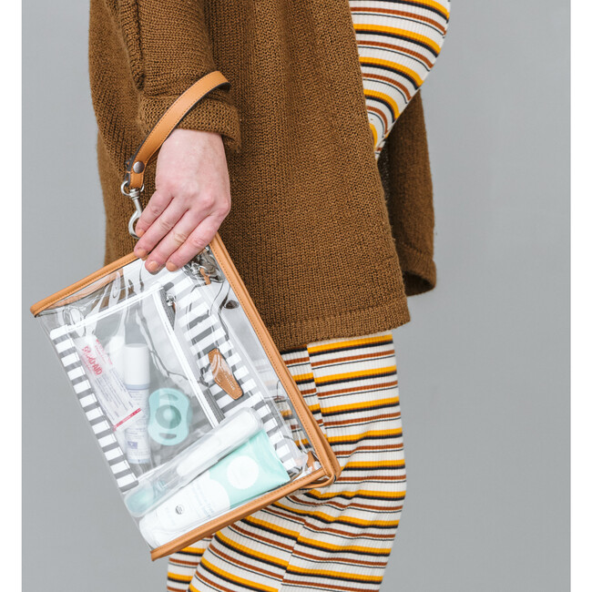 3-In-1 Pouch, Stripes