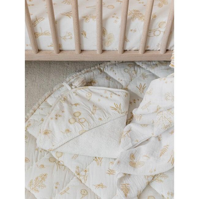 Botanica Hooded Towel, Marigold