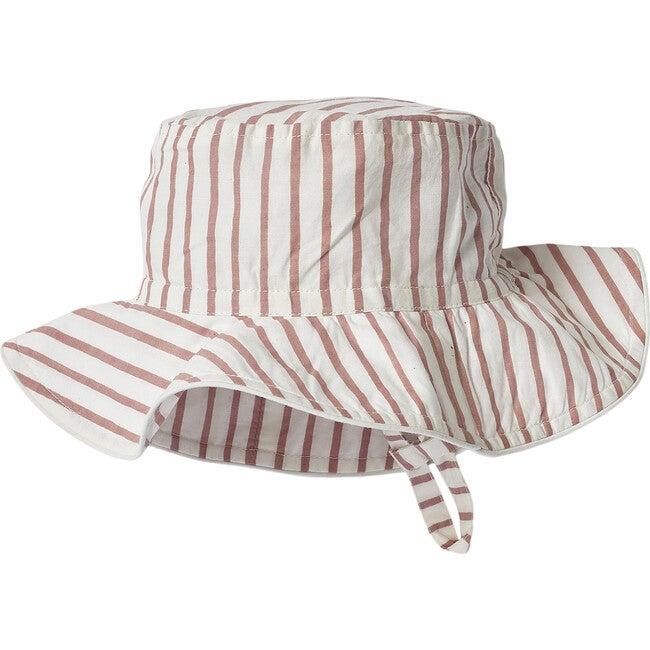 Stripes Away Bucket Hat, Pink