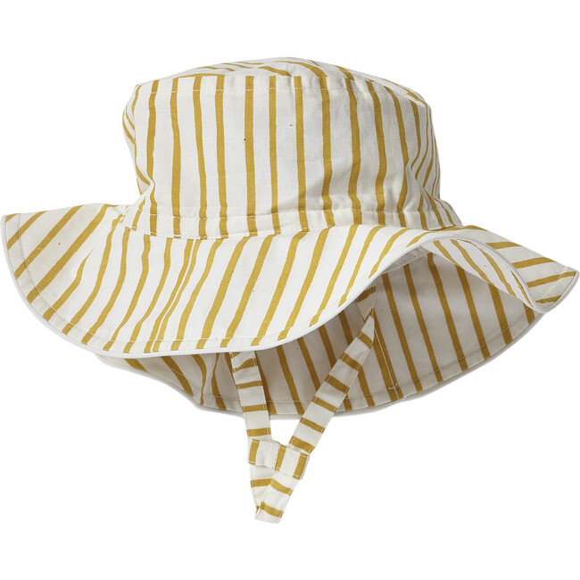Stripes Away Bucket Hat, Marigold