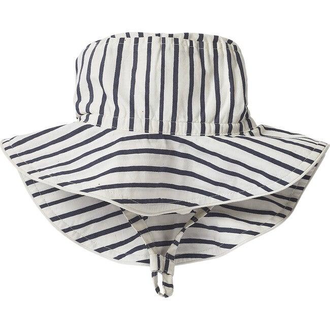 Stripes Away Bucket Hat, Ink - Hats - 1