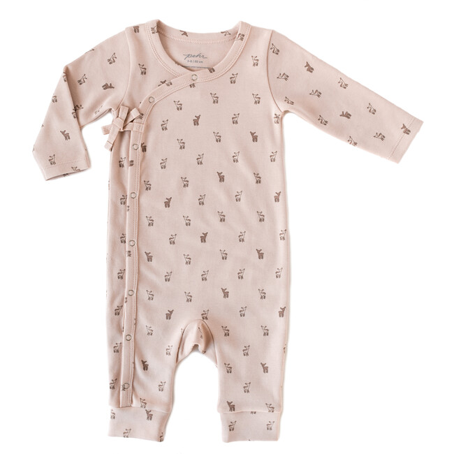 Hatchlings Fawn Romper, Pink