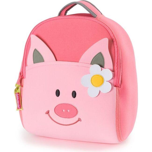 Pink Piglet Backpack, Pink - Backpacks - 1