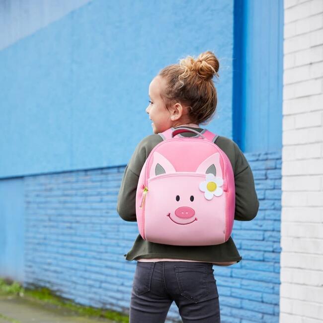 Pink Piglet Backpack, Pink