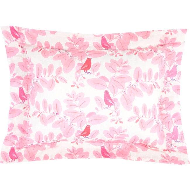 Songbirds Pillowcase, Pink
