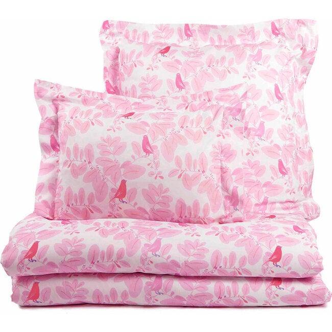 Songbirds Duvet Cover, Pink