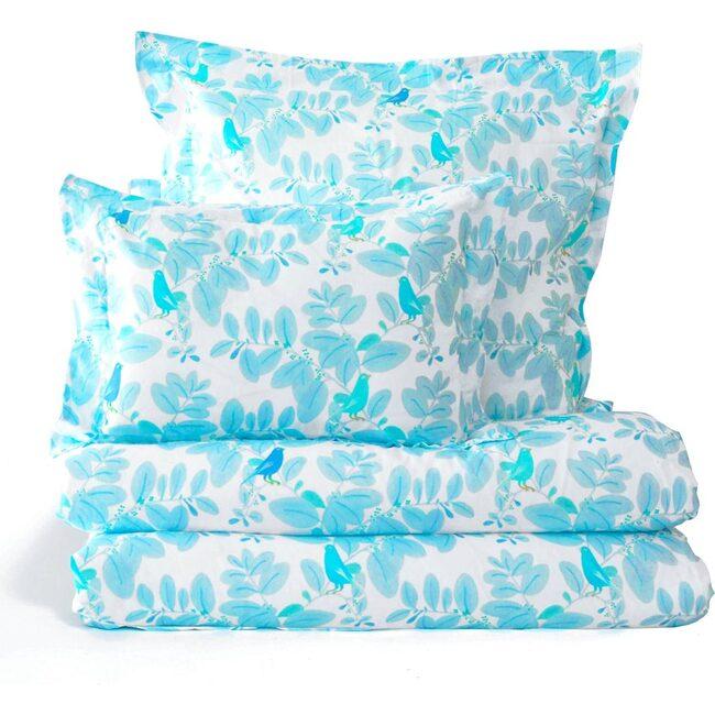 Songbirds Duvet Cover, Blue