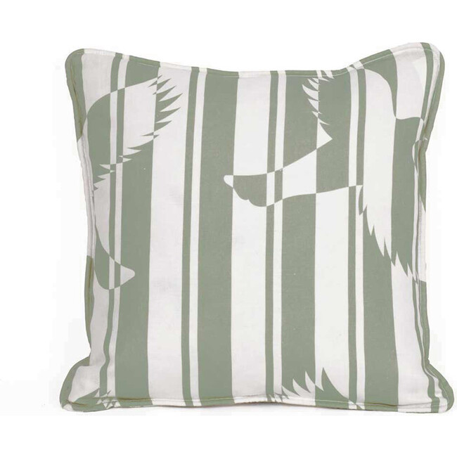 Polka Decorative Pillow, Khaki