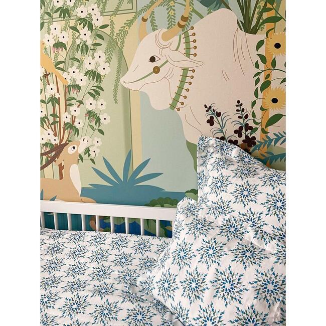 Mazurka Birds Pillowcase, Tiffany
