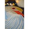 Petronia Bird Wool Rug, Blue Multi - Rugs - 4