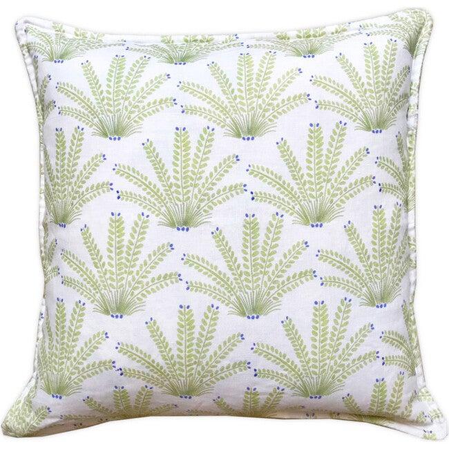 Maracas Decorative Pillow, Green