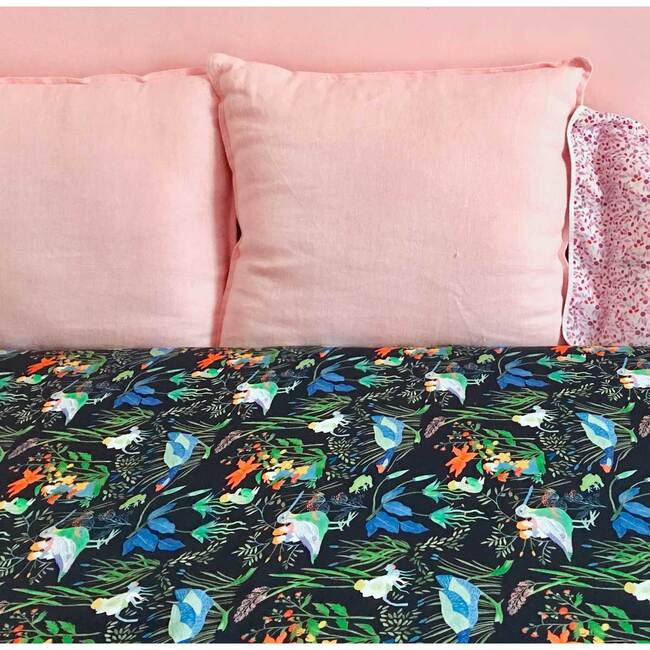 Lucioles Fitted Sheet, Night