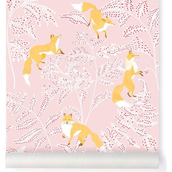 Kitsuné Wallpaper, Pink
