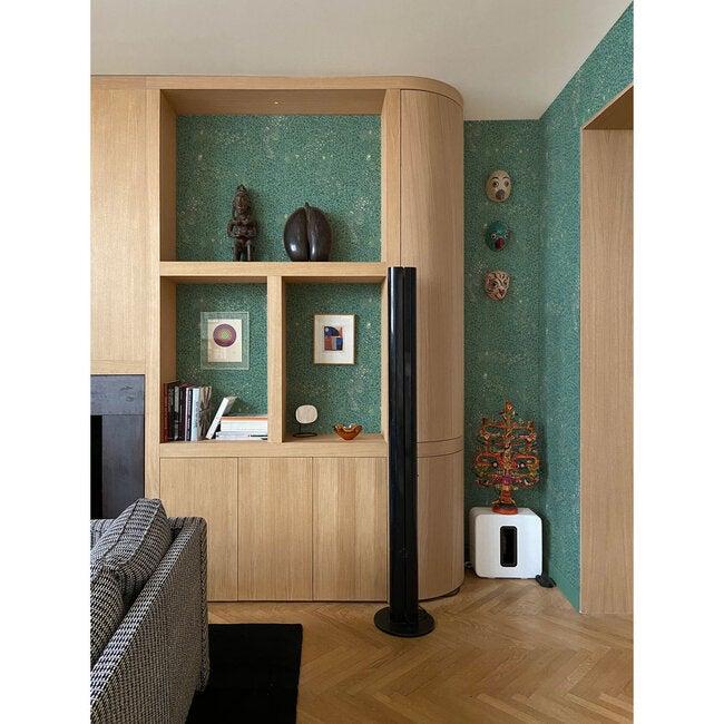 Cheetah Wallpaper, Green