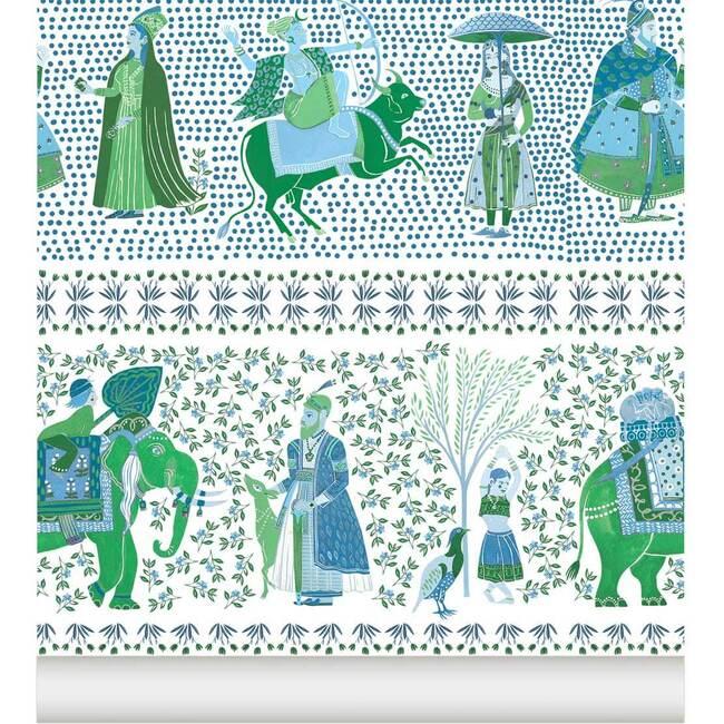 Chalana Wallpaper, Emerald