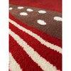 Cardinal Wool Rug, Red - Rugs - 7