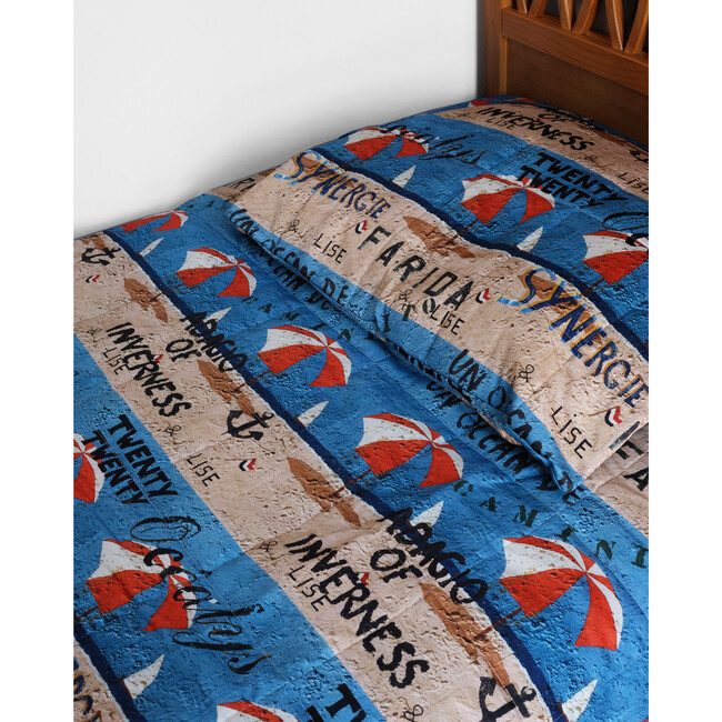Quilted Bed Cover, Parasol