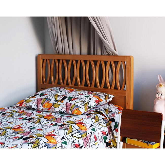 Quilted Bed Cover, Be Bop