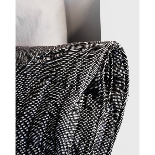 Small Quilted Blanket, Linen