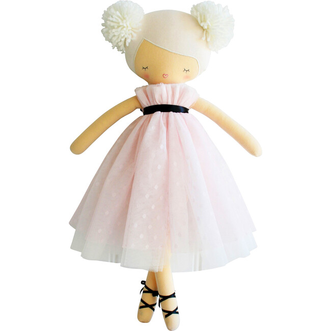 Scarlett Pom Pom Doll, Pink