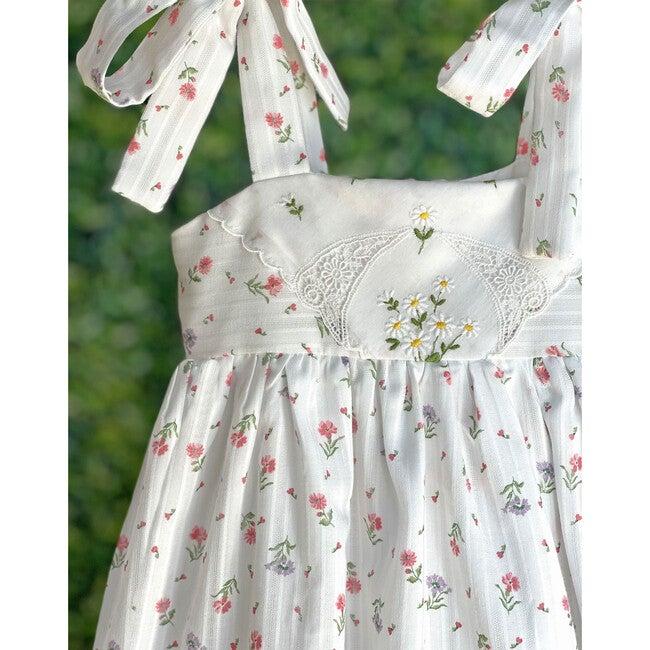 2y Dimity Floral Dress, Daisies