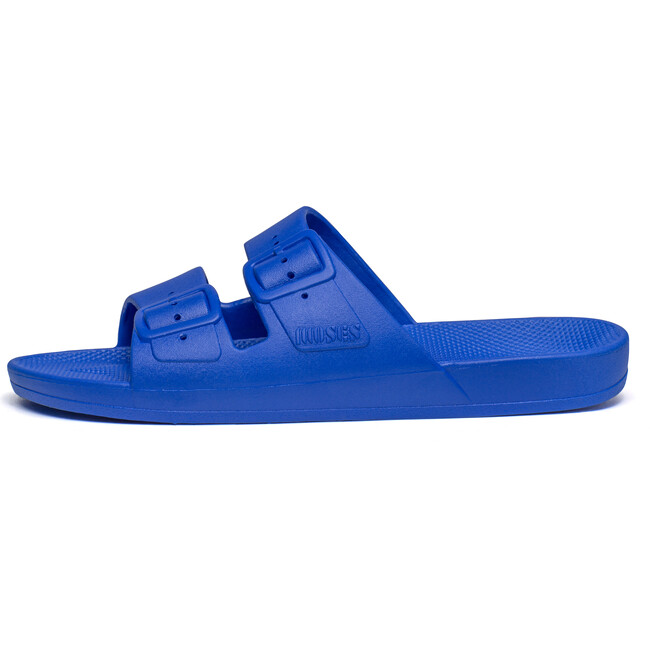 Moses Two Band Slide, Blue