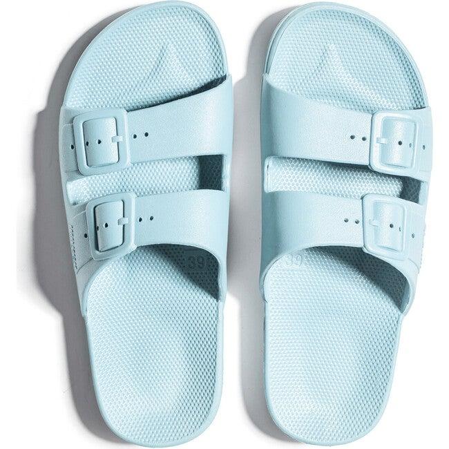 Adult Two Band Moses Slide, Virgin - Sandals - 1