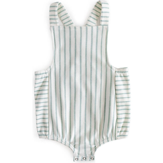 Criss-Cross Overall One-Piece, Sea - One Pieces - 1