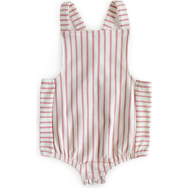 Criss-Cross Overall One-Piece, Pink - One Pieces - 1
