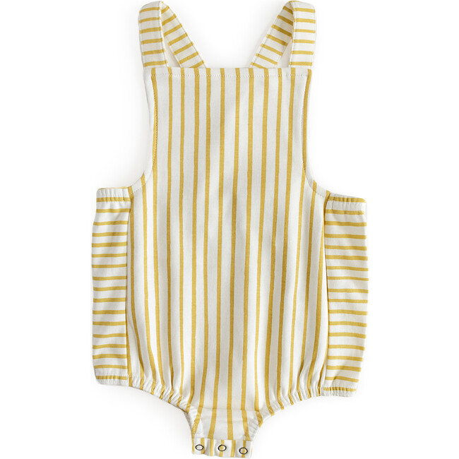 Criss-Cross Overall One-Piece, Marigold - One Pieces - 1