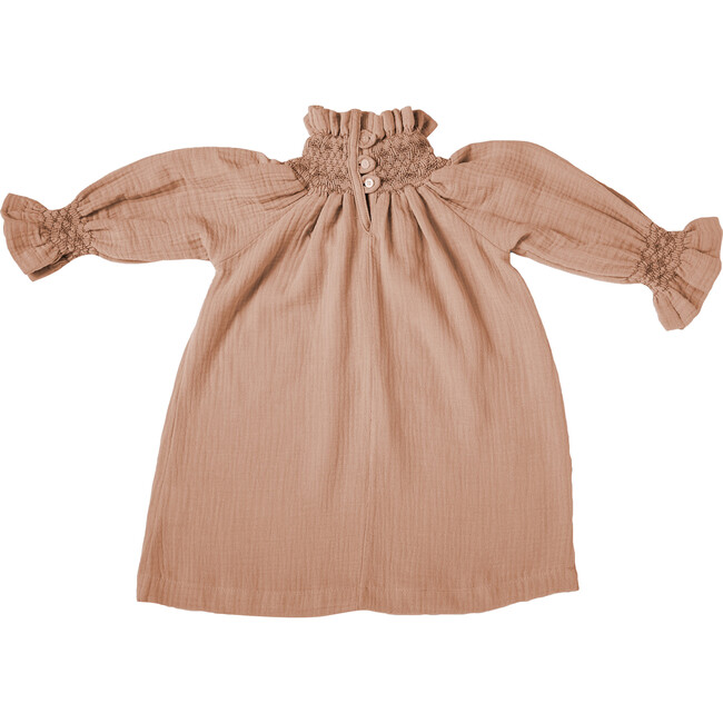 Rosa Smock Dress, Peach