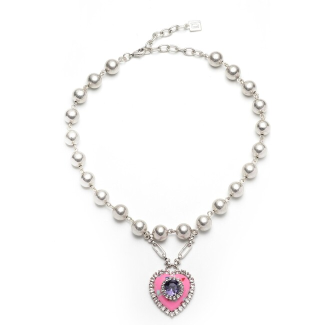 Pia Necklace, Pink