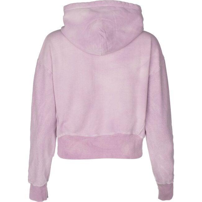 Women's Tie Dye Hoodie, Pink