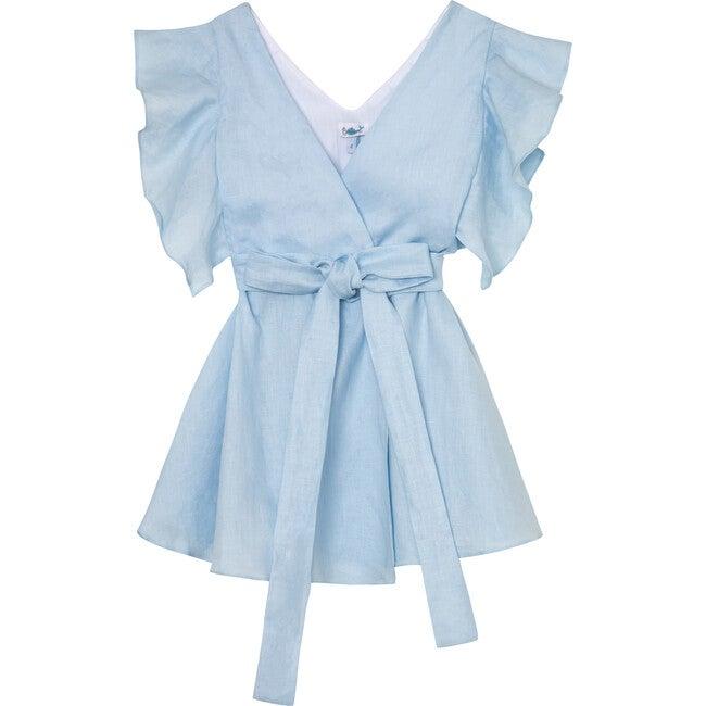 Colette Dress, Blue