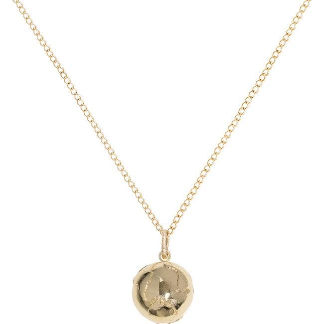 Medium Golden Atlas Necklace