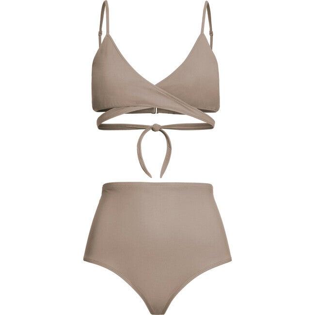 Women's Nina Bikini Bottom, Beige