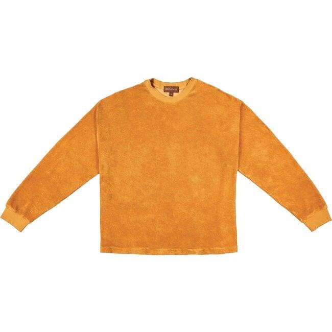 Women's Post Game Sweater, Tangerine