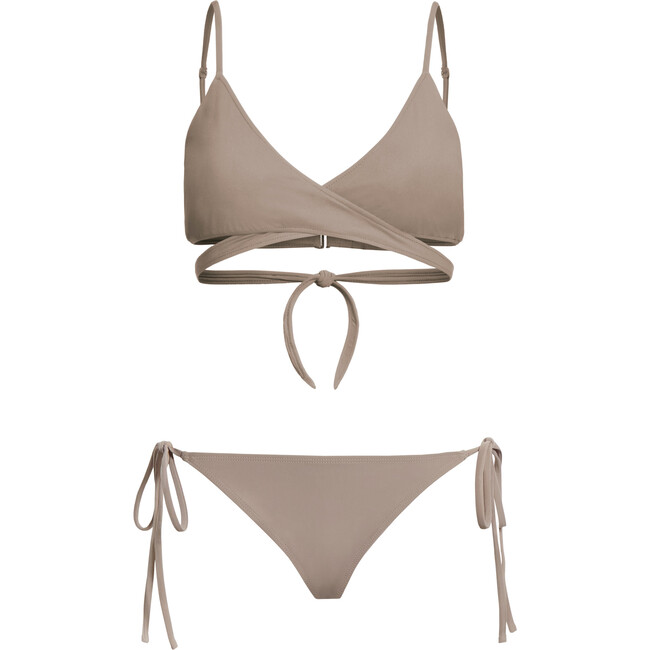 Women's James Bikini Bottom, Beige