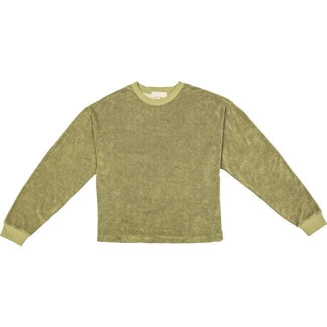 Women's Post Game Sweater, Sage