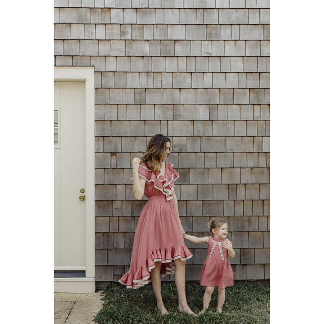 Women's Ruby Dress, Coral
