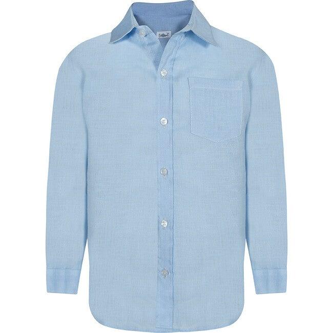 Daddy & Me Boy Shirt, Baby Blue