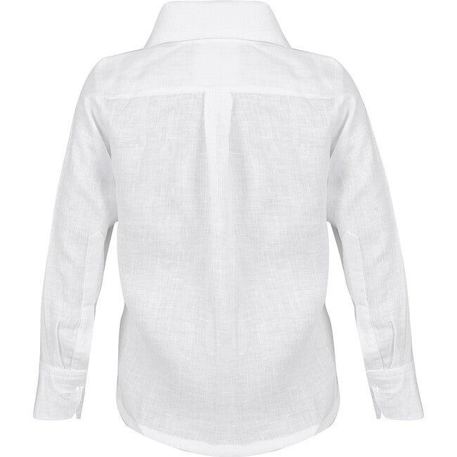Daddy & Me Boy Shirt, White