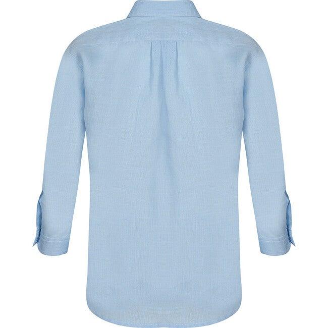 Daddy & Me Men Shirt, Baby Blue