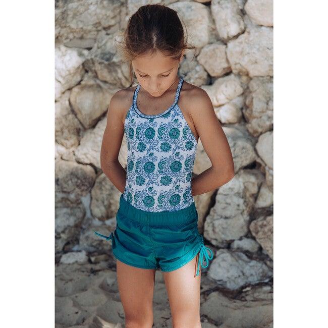 Jaipur One Piece Swimsuit, Green