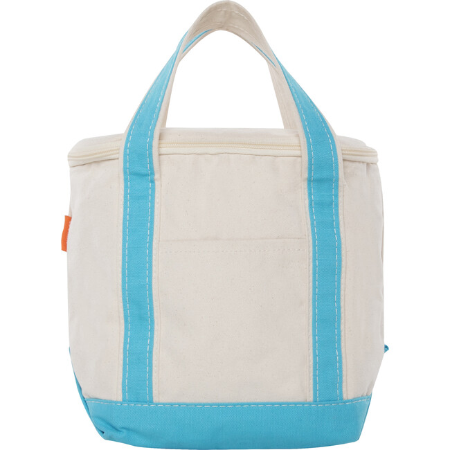 Small Lunch Tote Cooler, Turquoise