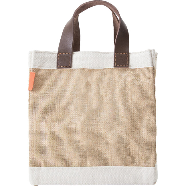 Mini Jute Market Bag, Natural