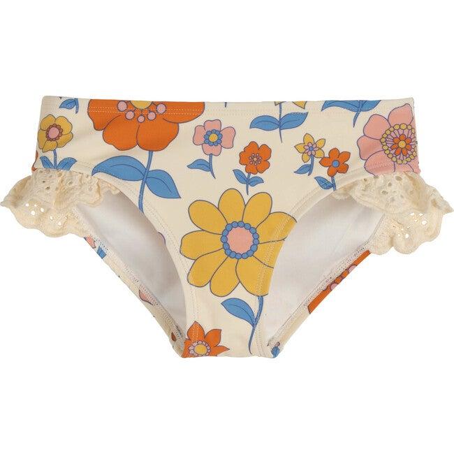 Bridget Bikini Bottom, Retro Flower