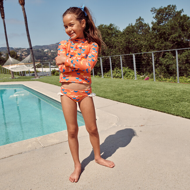 Bridget Bikini Bottom, Pink Waves