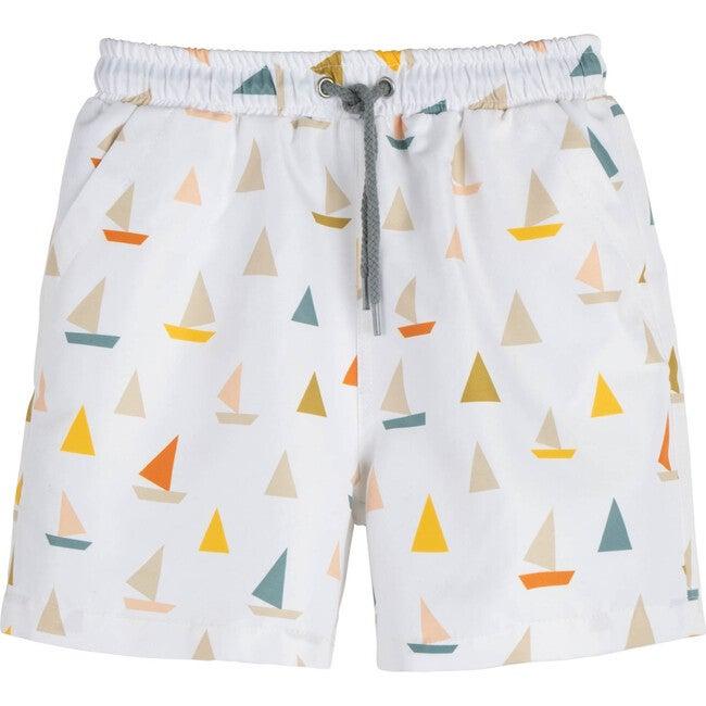 Christopher Swim Trunk, Cream Boats